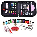 Sewing KIT, DIY Sewing Supplies with Sewing Accessories, Portable Mini Sewing Kit for Beginner, Traveller and Emergency Clothing Fixes (S)