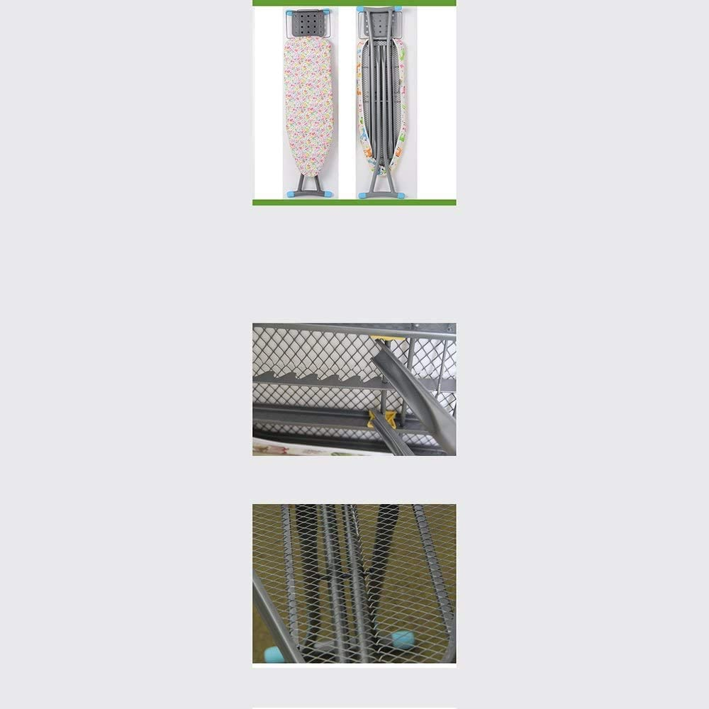 GTJ Planche À Repasser Planche À Repasser Pliante Ultra-Stable Planche À Repasser 110 × 85Cm Blanchisserie,C C