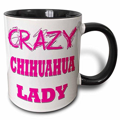 3dRose Crazy Chihuahua Lady mug 174981 4