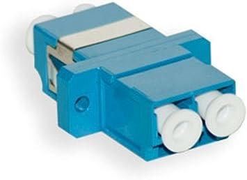 Fiber Optic Hybrid Adapter FC-LC//LC-FC Adapter Coupler Duplex Metal Style SM