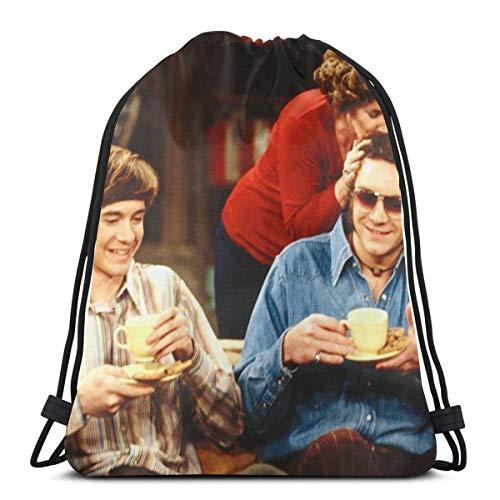 HMHMUND That '70s Show Classic Drawstring Bag-Gym Backpack Shoulder Bags Sport Storage Bag For Men Women 36cmx43cm