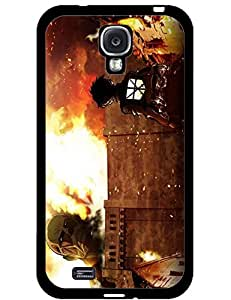 Cool Cover Case for Samsung Galaxy S4 I9500,Cute Attack On Titan Anime Pattern