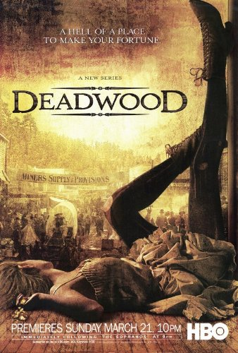 Deadwood Poster TV B 27x40 Timothy Olyphant Ian McShane Molly Parker