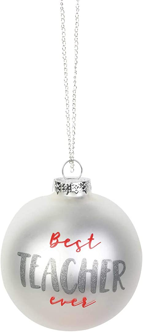 Enesco Our Name is Mud Best Nurse Ever Glitter Hanging Ornament 3.95 Inch