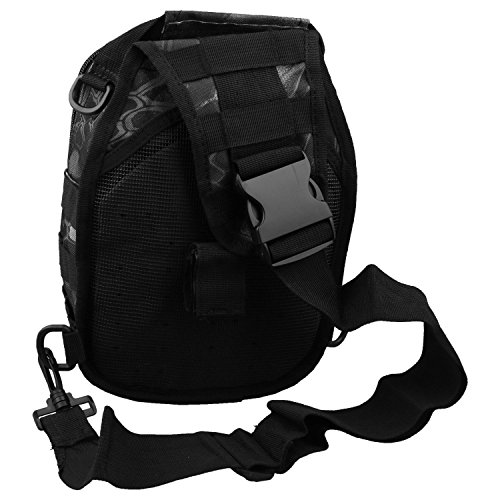 bag strap shoulder Digital R python Hiking backpack Single Camping Black bicycle SODIAL Backpacks strap Shoulder bag ACU XIT1q8
