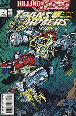 The Transformers: Generation 2 #3