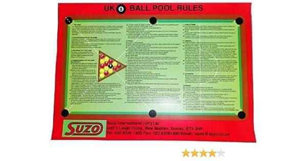 Kelly ojo piscina reglas hoja x , 5 unidades: Amazon.es: Deportes ...