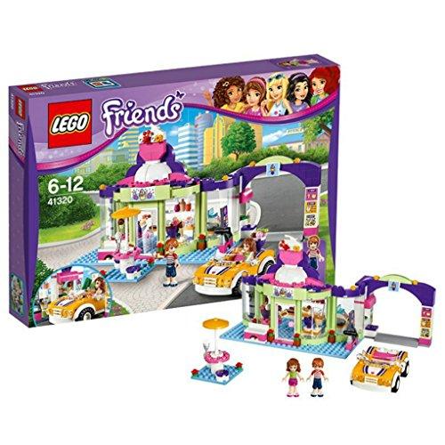 Lego Friends - Heart Lake Frozen Yogurt Shop Drive Thru 41320 (370 Piece)