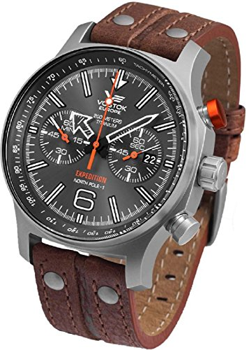 Vostok Europe Expedition North Pole 1 Titan Men's Watch 6S21/595H298