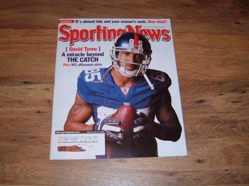 Sporting News-June 23, 2008-David Tyree-New York ()