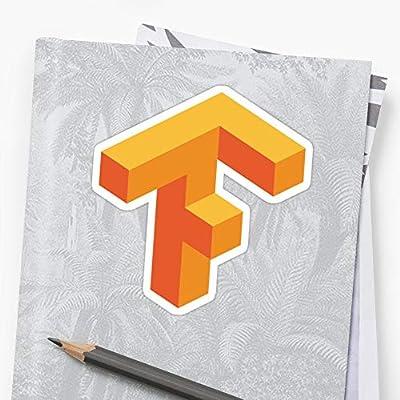 Deangelo Tensorflow Logo Stickers (3 Pcs/Pack): Kitchen & Dining