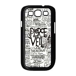 WEUKK Pierce the veil Samsung Galaxy S3 I9300 phone case, diy cover case for Samsung Galaxy S3 I9300 Pierce the veil, diy Pierce the veil cell phone case