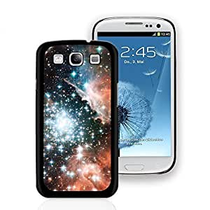 Bling Galaxy Pattern Hard Plastic Case Cover Protector Skin for Samsung Galaxy S3 - Black Edge