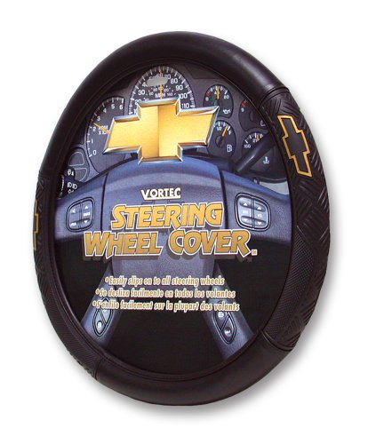 Plasticolor 6446 Chevy Vortec Style Steering Wheel Cover (Wheel Key Steering)