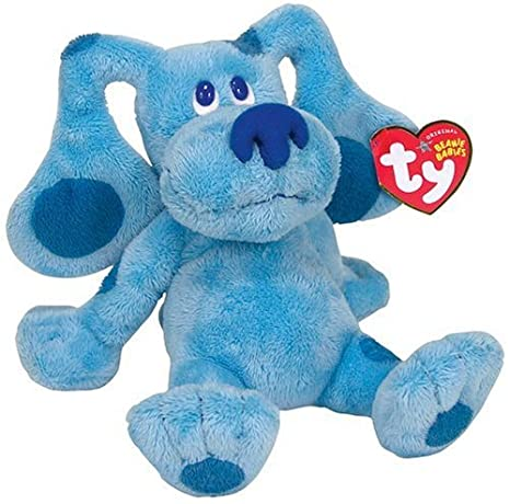 866a690fa422d5 Amazon.com  Ty Beanie Baby Blues Clues  Toys   Games