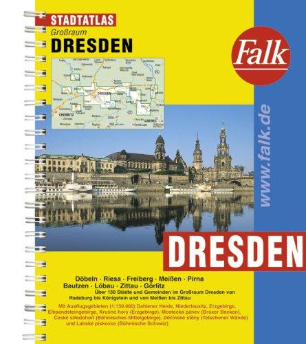 Falk Stadtatlas Großraum Dresden