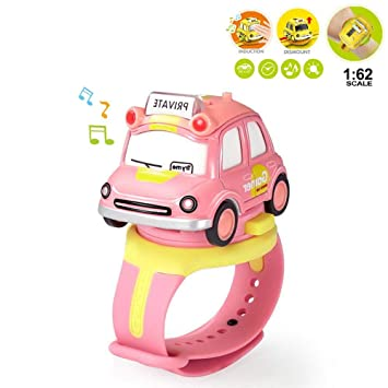 Kids Car Watch Toys 2 In 1 Multi Function Cute Electric Cars Toy Watch With Led Lighting And Sound Effects Educational Fun Cars Toy Watch Xmas Gift For Boys Girls Children Pink Amazon In Home Kitchen