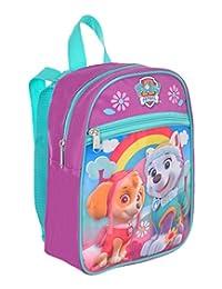 "Paw Patrol Skye and Everest Lavender Mini 10"" Backpack"