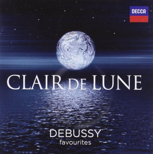 Claire Lune Debussy Favorites CD