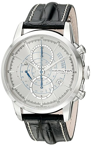Hamilton Men's H40656781 Timeless Class Analog Display Automatic Self Wind Black Watch