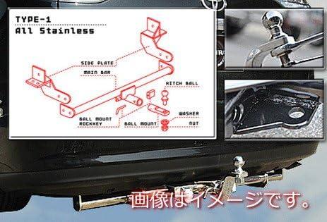 TIGHT JAPAN(タイトジャパン) ホンダ タイトヒッチメンバー ステンレスタイプ1 ステップワゴンRF3・4