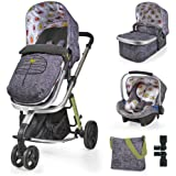 Cosatto Giggle 2 Travel System With Port Car Seat Dawn Chorus
