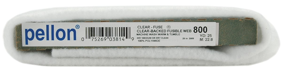 Clear-Fuse Fusible Web-20''X25 Yards