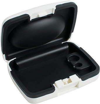 Drying box Estuche para audífonos, Estuche rígido, Caja de protección electrónica de Productos, audífono, Estuche portátil a Prueba de Agua: Amazon.es: Deportes y aire libre