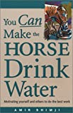 You Can Make the Horse Drink Water : Motivating Yourself and Others to Do the Best Work, Bhimji, Amir, 0972050507