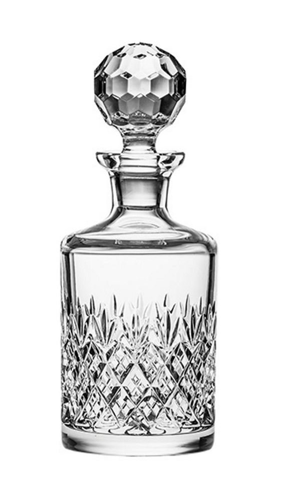 Royal Scot Crystal Edinburgh Connoisseur Crystal Whisky Decanter Carafe