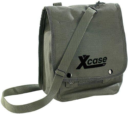 Canvas Schultertasche X-Case aus strapazierf. Baumwolle