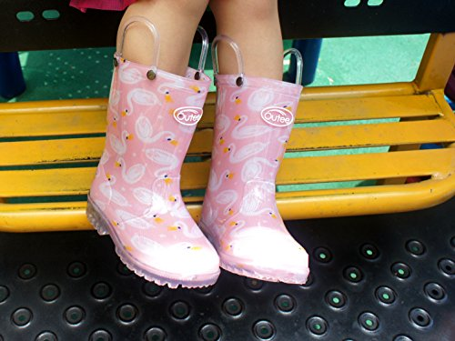 Pictures of Outee Toddler Girls Kids Light Up Rain GLP18ASWNPIN6 7