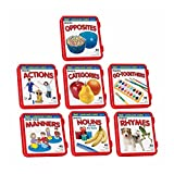 7 Language Flash Cards Sets Flash Speech Therapy Autism ABA Special Needs Multicolor