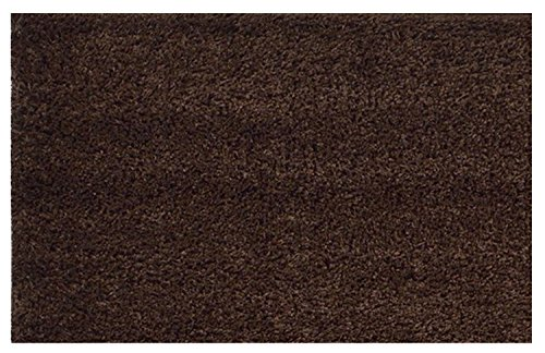 Shaggy Collection Solid Color Brown