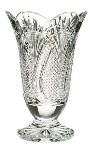 Waterford Crystal Seahorse 10-Inch Vase