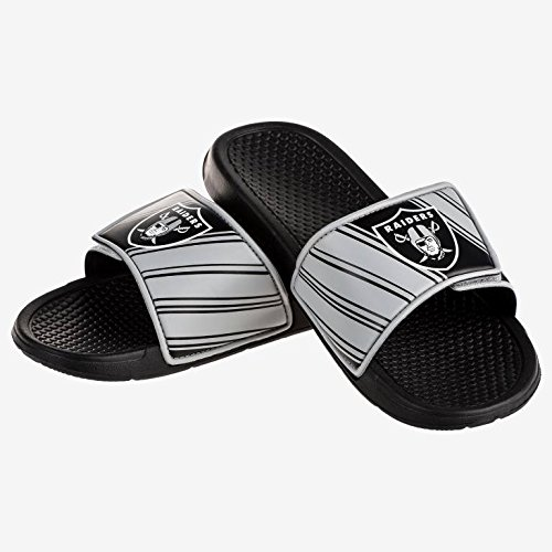 Oakland Raiders Nfl Legacy Sport Slide Mens   Large