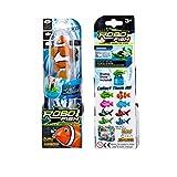Robo Fish Water Activated Orange Clownfish 3 Inch