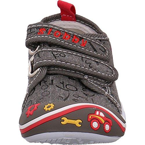 Slobby 43-0025-s1-grau - Zapatillas para niño gris