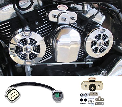 Motorcycle Cooling System (Love Jugs Cool Master Chrome with Vibration Master Kit & ADT V-Twin Engine Cooling System for 2014-2016 Harley Touring Motorcycles)