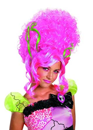 Monster Bride Wig, Pink, One Size