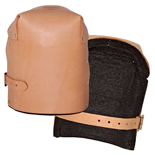 Bucket Boss 92013 Pro Leather Kneepads by Bucket Boss (Pro Knee Pads Leather)