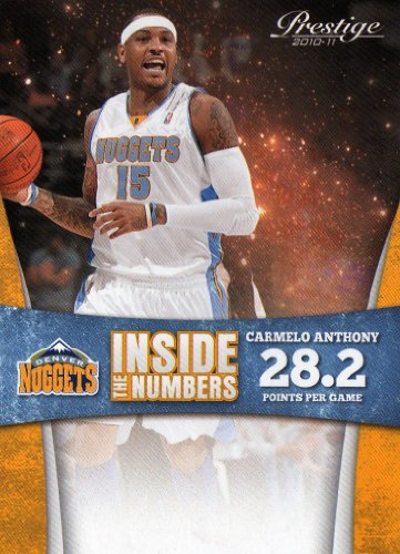 2010/11 Prestige Inside the Numbers #5 Carmelo Anthony