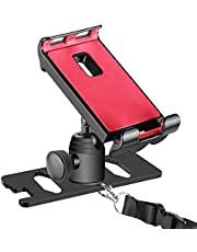 Neewer for DJI Mavic Pro 4-12 inches Cellphone Tablet Stand Holder, Remote Controller Extender Bracket Mount to Clip Smart Phone iPad Galaxy Tablets,360 Degree Rotatable,Aluminum Alloy (Black)