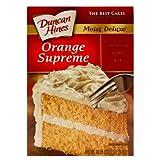Duncan Hines Orange Supreme Cake Mix 18.25oz (6 pack) by Duncan Hines Orange Supreme Cake Mix