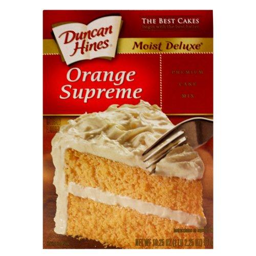 Duncan Hines Orange Supreme Cake Mix - Orange Cake Mix