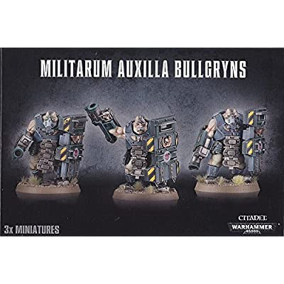 Games Workshop Militarum Auxilla Bullgryns: Toys & Games