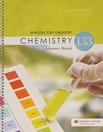 CHE 133 Lab Manual