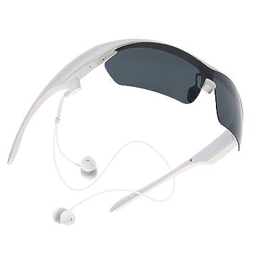 icase4u K2 Inalámbrico Auriculares Música Bluetooth Gafas de Sol Polarizadas Manos Libres Estéreo Smart Touch Voice