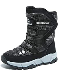 Boys Snow Boots Outdoor Waterproof Winter Kids Shoes