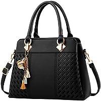 Womens Fashion PU Leather Purses and Handbags Satchel Tote Top-Handle Bags